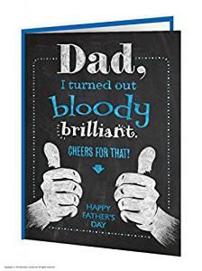 fathers day card crazydiscostu fathers day