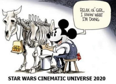 disney milking star wars crazydiscostu lol