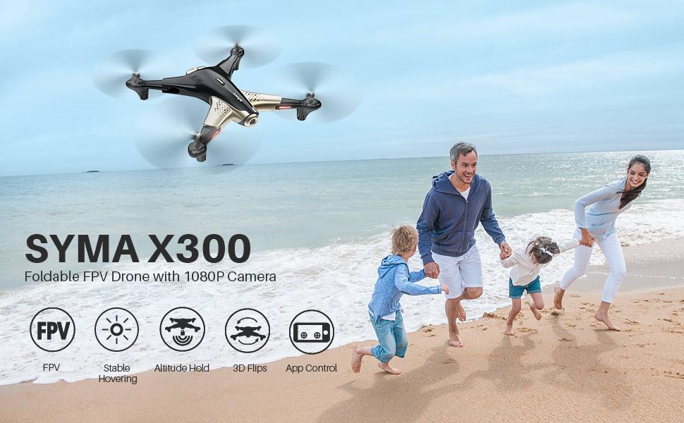 syma x300 fpv drone 1080 camera beginner drone