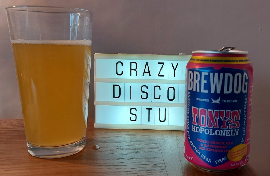 brewdog tony's hopolonely cans across the world crazydiscostu beer blog and podcast craft beer