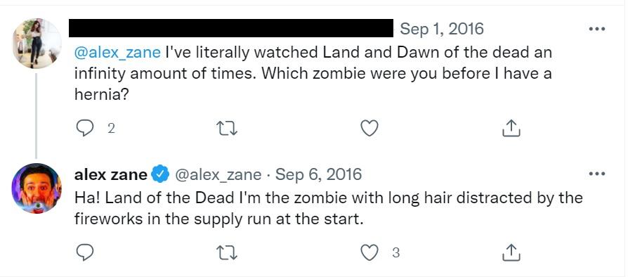alex zane was in land of the dead ibiza undead film review