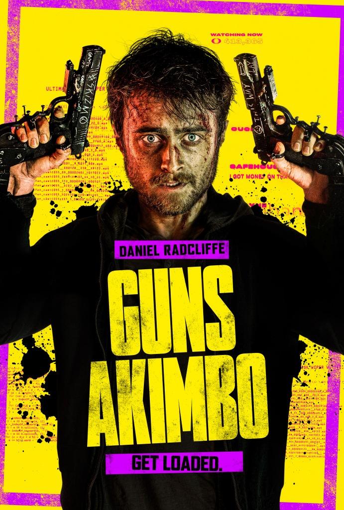 guns akimbo film review crazydiscostu danial radcliffe