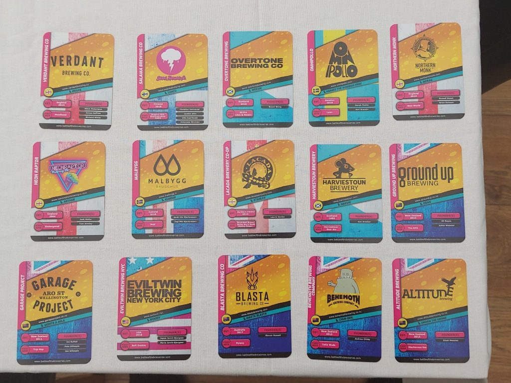battle of the breweries crazydiscostu cans craft beer card game craft beer gifts beers