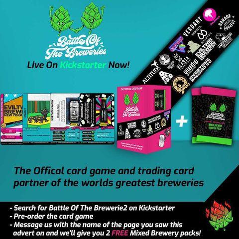 battle of the breweries crazydiscostu cans craft beer card game craft beer gifts blog kickstarter campaign